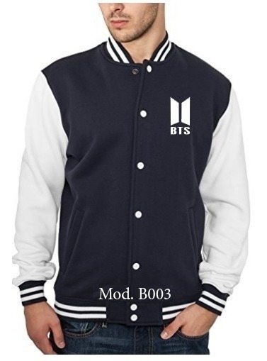 Chaqueta Universitar Bts, Monsta X, Exo, Nct, Wanna One