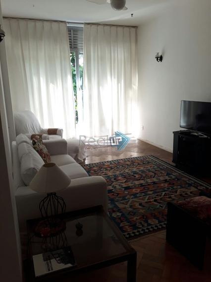 Leblon- Apartamento De 3 Quartos Com 152m² Com Vaga ( Escritura) - 8794