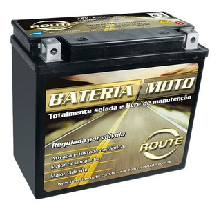 Bateria Moto Route Harley Fat Boy Softail , Deluxe , Dyna