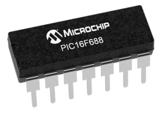 10x Microcontrolador Pic16f688 16f688 Pic16f688-i/p Dip-14