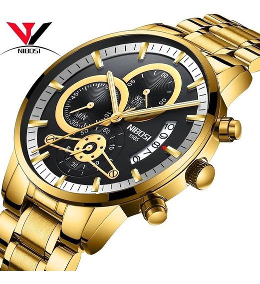 Relógio Masculino Nibosi 2309.1 Anti-riscos A Pronta Entrega