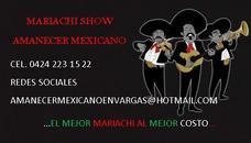 Mariachi Show Amanecer Mexicano En Vargas