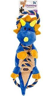 Encantador 61127 Ropesago Godragon Squeak Toys