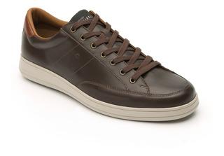 Sneaker Casual Quirelli 89403 Chocolate