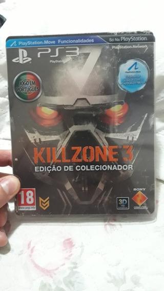 Killzone 3 Steelbook 100% Em Português