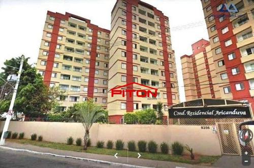 Apartamento À Venda, 64 M² Por R$ 290.000,00 - Vila Aricanduva - São Paulo/sp - Ap2037