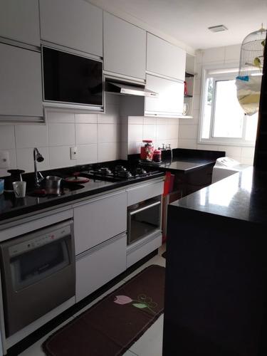 Imagem 1 de 11 de Lindo Apartamento Com 2 Dormitórios,cozinha Planejada, Mármore, Fogão Cooktop, Forno - Ap00933 - 68349542