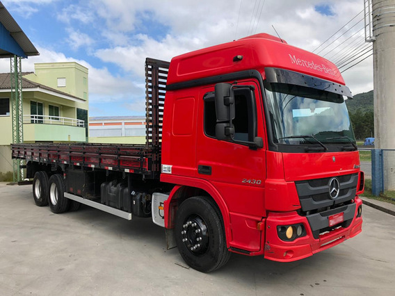 Mercedes Benz Atego 2430 2015 Carroceria