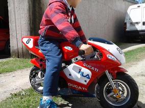 Ducati Replica Para Niño 49cc., Divina!!!