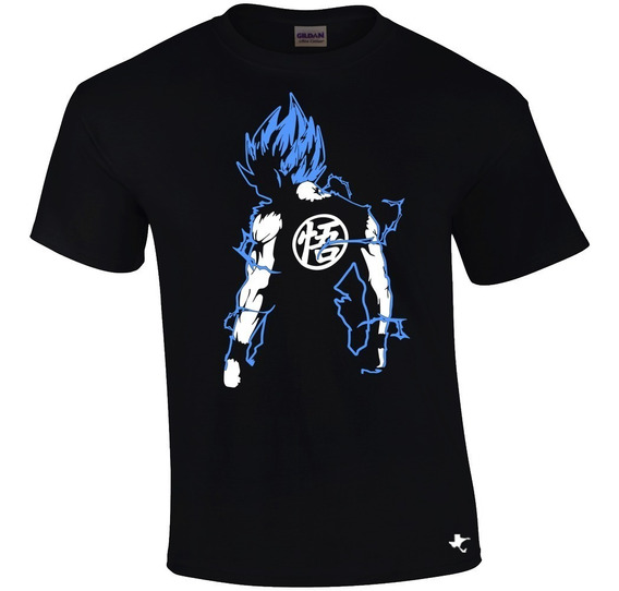 Playera Anime Dragon Ball Goku Ssj By Tigre Texano Designs