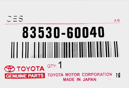 Válvula Presión Aceite Toyota Corolla Baby Camry Araya Sky