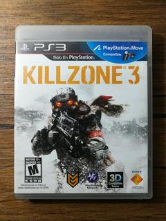 Killzone 3 Español Playstation 3 Ps3 Gran Estado !!