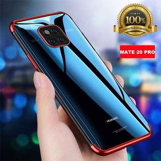 Huawei Mate 20 Pro Capinha Case Em Silicone Azul Ou Vermelha