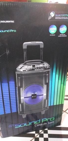 Caixa De Som Goldentec Gt Sound Pro