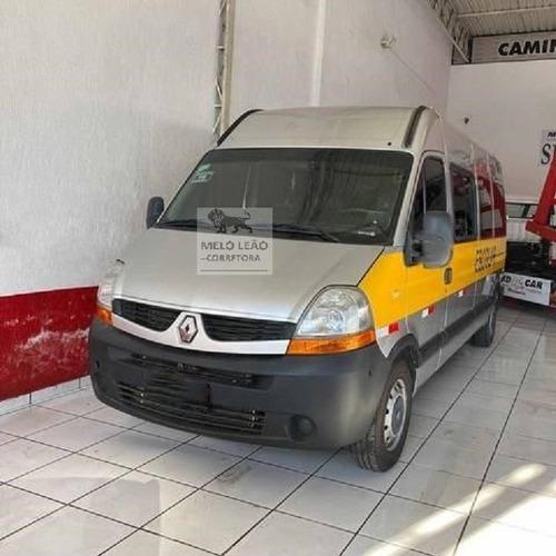 Imagem 1 de 2 de Renault Master Van 16l 2013 Teto Alto, C/ Ar Cond 300.000km