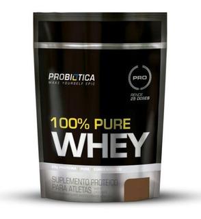 100% Pure Whey Refil 825g - Probiotica - Sucesso De Vendas