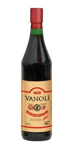 Imagen 1 de 2 de Salsa Inglesa Vanoli X 950ml Sin Tacc