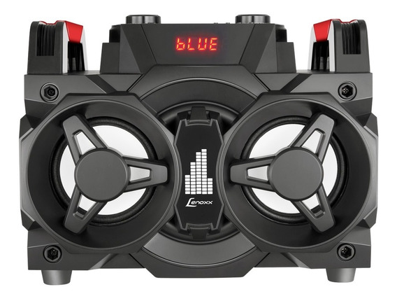 Caixa De Som Bluetooth Portátil Lenoxx Ms8600 Com Rádio