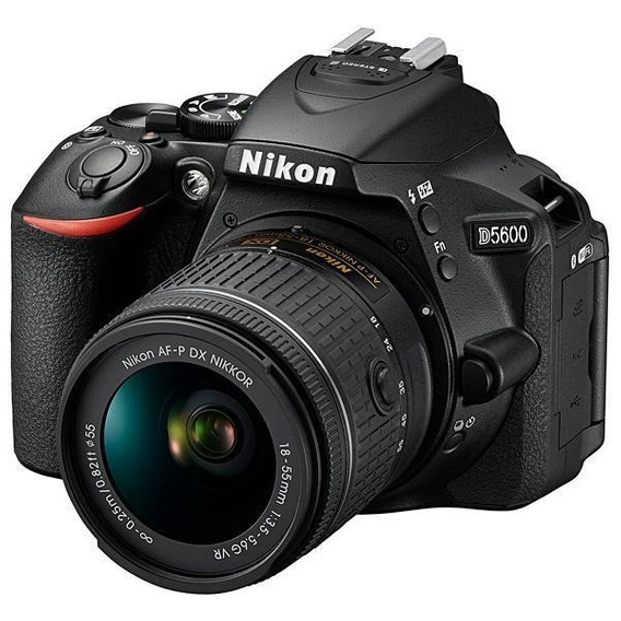 Câmera Nikon D5600 24.2mp Bluetooth/wi Fi/nfc + Lente Af-