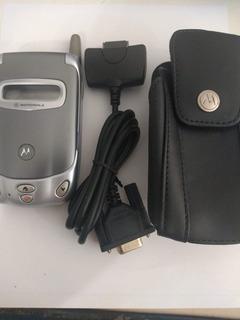 Celular Motorola Modelo 388 - Com Bateria E Case - Peças