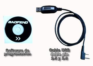 Baofeng Cable Usb Y Software (varios Modelos)