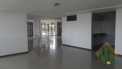 Apartamento Com 4 Dormitórios Para Alugar, 250 M² Por R$ 1.850/mês - Miramar - João Pessoa/pb - Cod Ap0576 - Ap0576