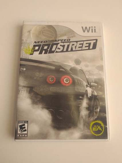 Capa E Manual Need For Speed Pro Street Wii