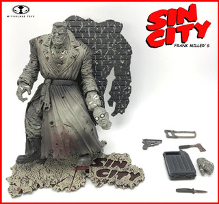 Sin City: Marv (version Black & White) Mcfarlane Toys. 1998.
