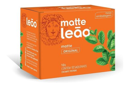 Imagem 1 de 1 de Chá Leão Matte - 10 Sachês