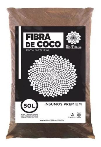 Imagen 1 de 3 de Fibra De Coco Orgánico Sustrato Autocultivo 100 Lts Bioterra