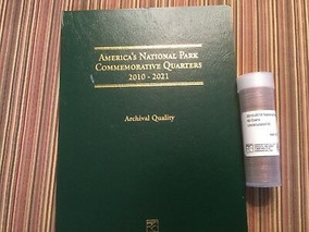 Moedas Comemorativas Americanas 2010-2017 Parques Nacionais