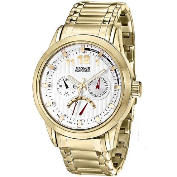Relógio Magnum Masculino Multifunction Ma32372h