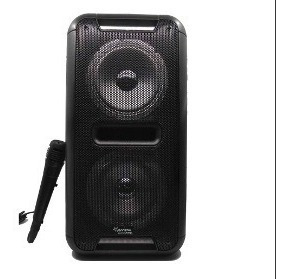 Parlante Inalambrico Bluetooth Ibiza Microfono Luces 1200w