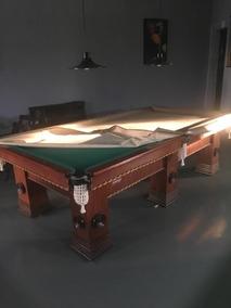 Mesa De Sinuca Snooker Premier Oficial - 12x S/ Juros