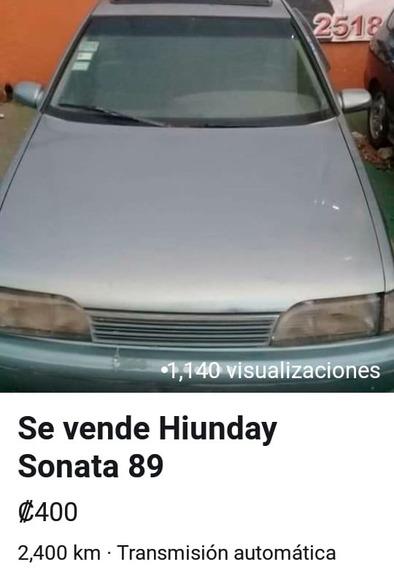 Hiunday Sonata 1989 Sedán 1800 Recien Overhaul - Repuestos