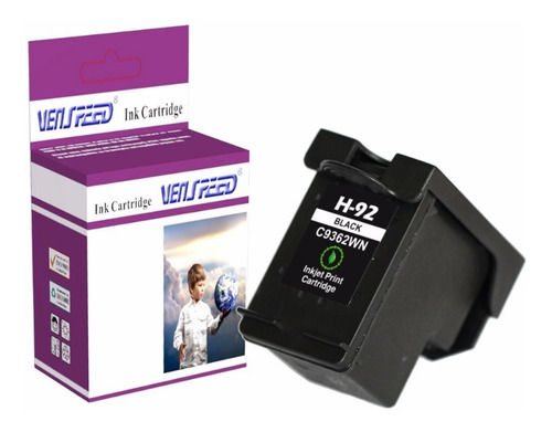 Cartucho Compatible Hp 92 Xl Negro (c9362w)
