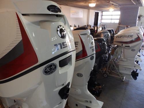 Lancha 3v Nueva Open 510 Evinrude 60 Stock12 Nautica Milione