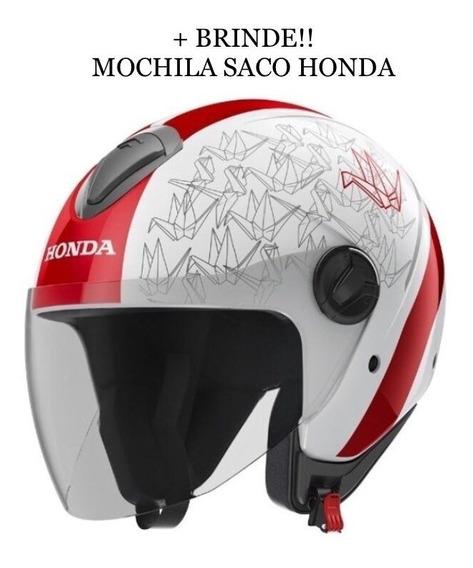 Capacete Honda Hnj Aberto Origami - Ed. Limitada Japão