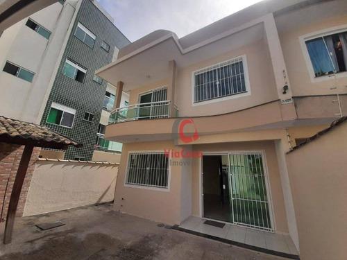 Imagem 1 de 27 de Casa Duplex Com 3 Quartos Sendo 1 Suíte À Venda, 120 M² Por R$ 400.000 - Jardim Mariléa - Rio Das Ostras/rj - Ca0364