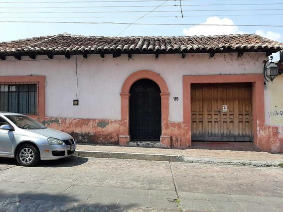 Casa En Renta, Barrio De Guadalupe