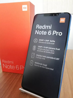 Xiaomi Redmi Note 6 Pro Octacore 1,8ghz 3/32gb 12+20mp Dual