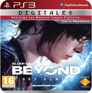 Beyond: Two Souls Ps3 (25gb) - No Codigo