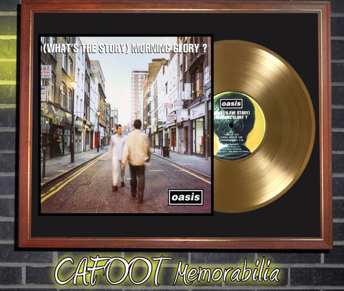 Oasis What's The Story Morning Glory Tapa Lp  Y Disco Oro