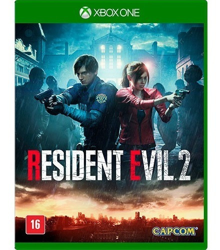 Resident Evil 2 Xbox One Midia Fisica