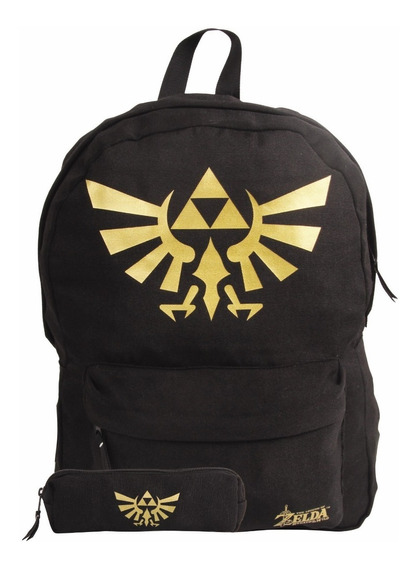 Kit Mochila Nintendo Zelda 11174 + Estojo 11173 Original