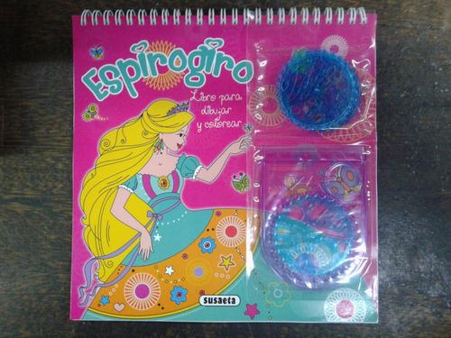 Espirogiro * Libro Para Dibujar Y Colorear * Susaeta *