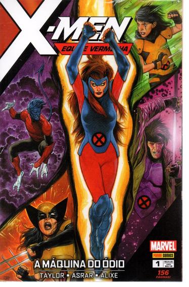X-men Equipe Vermelha 1 - Panini 01 - Bonellihq Cx239 E19