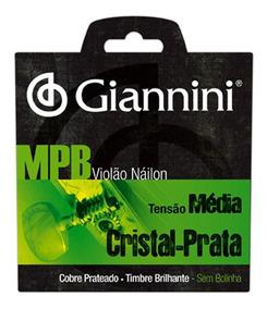 Encordoamento Violão Giannini Genws Série Mpb Nylon