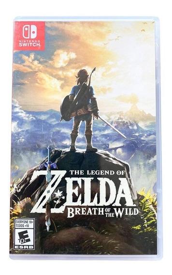 The Legend Of Zelda Breath Of The Wild - Mídia Física