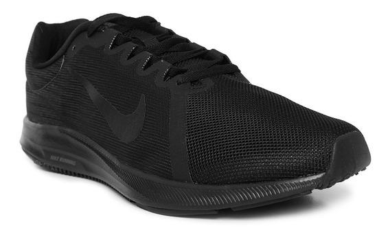 Tenis Nike Downshifter 8 Negro Gym Running 100% Original